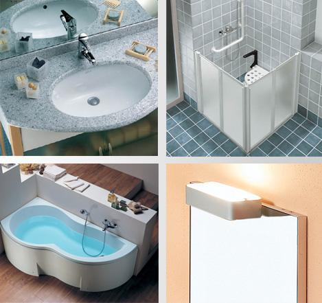 Ceramiche sanitari boiserie in ceramica per bagno - Ceramiche bagno classico ...